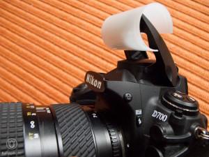 Streulicht-Vorsatz Filmdose