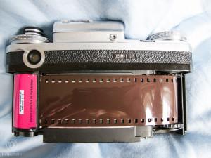 Analog fotografieren - Film einlegen