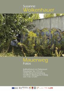Mauerweg - Fotoausstellung im Bewohnertreff Kaffeeklatsch im Pallasseum