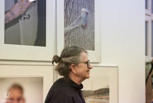 Judy Linn - Asstellung im Haus am Kleistpark, Künstlerführung