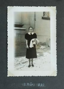 Waltraud P., jetzt 90 Jahre - aus einem Fotoalbum anno 1939